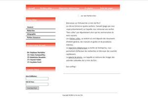 Page d'accueil Intranet